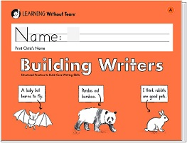 Handwriting without Tears Building Writers Book A - Kindergarten