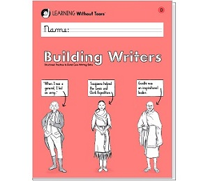 Handwriting without Tears Building Writers Book D - Grade 3