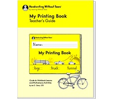 Handwriting without Tears My Printing Book Teacher Guide