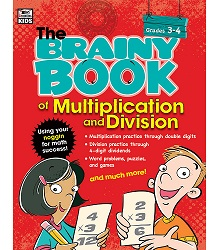 Brainy Book of Multiplication and Division Workbook