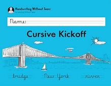 Handwriting without Tears Cursive Kickoff