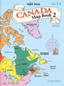 Canada Map Book 2 (Maps / Mapping Skills BC3)