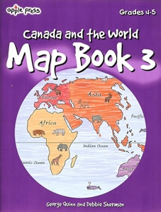 Canada Map Book 3 ( Maps / Mapping Skills, BC4, HCOS4)