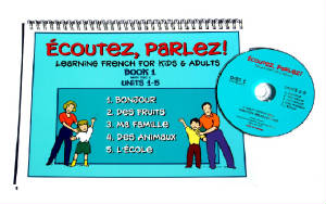 Ecoutez, Parlez Book/CD 1  French