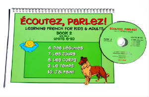 Ecoutez, Parlez Book/CD 2  French