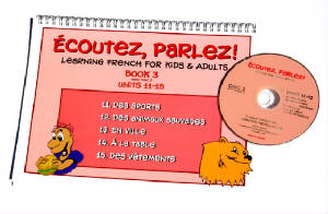 Ecoutez, Parlez Book/CD 3  French