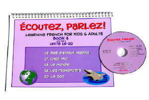 Ecoutez, Parlez Book/CD 4  French
