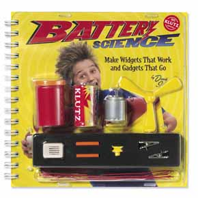 Klutz Battery Science  (Gift Ideas, STEM)