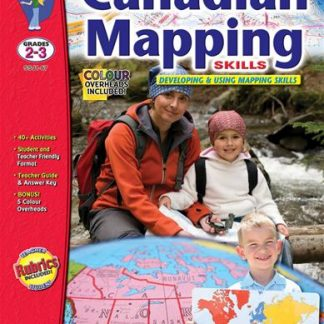 Canadian Mapping Skills, S&S Grades 2-3