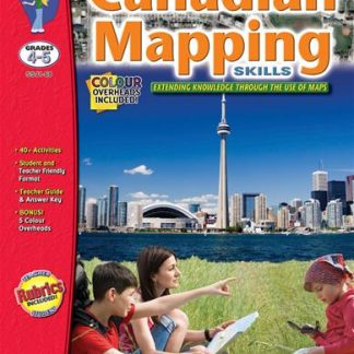 Canadian Mapping Skills, S&S Grades 4-5