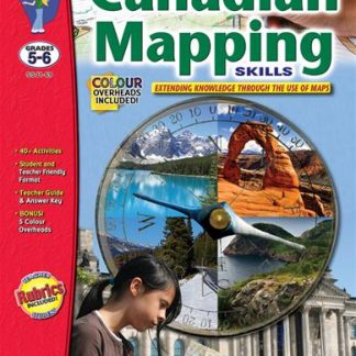 Canadian Mapping Skills, S&S Grades 5-6