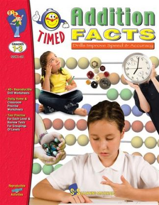 Addition Timed Facts, S&S Grades 1-3