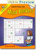 Mind Benders Book 6 Grades 7-12+ (deductive thinking puzzles)
