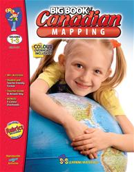 Canadian Mapping Big Book, S&S Grade 1-3 (Mapping Skills)