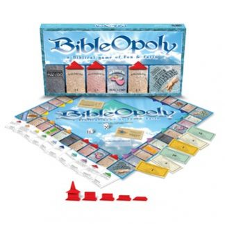Bible-Opoly Games (Monopoly) (Gift Ideas) Bible Game