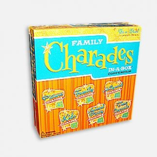 Family Charades in a box (6 games in one)  Games (Gift Ideas)