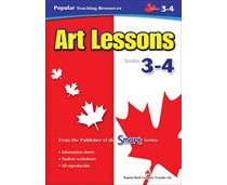 Art Lessons 3-4 (Canadian Visual Arts, Dance, Drama & Music)  Fine Arts (CP3, CP4, BC3, BC4)