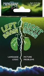 Left Brain / Right Brain Games (Gift Ideas)