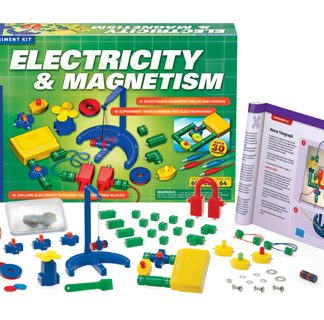 Electricity Magnetism Science Kits (STEM, Hands-On,