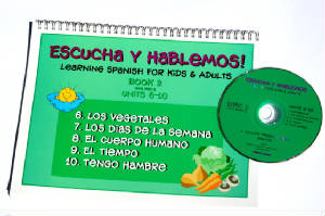 Escucha y Hablemos Book/CD 2 Spanish