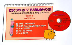 Escucha y Hablemos Book/CD 3 Spanish
