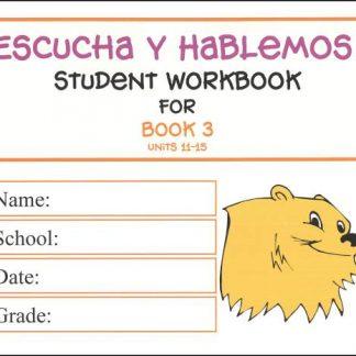 Escucha y Hablemos Workbook 3 Spanish
