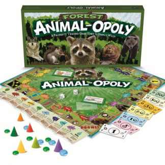 Forest Animal-Opoly Games (Monopoly) (Gift Ideas)