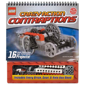 Klutz Lego Crazy Action Contraptions  (Gift Ideas, STEM, construction)