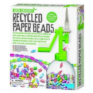 Recycled Paper Beads (Gift Ideas) (environment, recycling)
