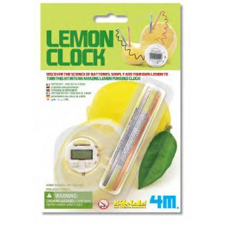 Lemon Clock   Science Kits  (Gift Ideas, STEM)