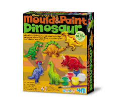 Mould and Paint Dinosaurs  (Gift Ideas)