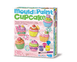 Mould and Paint Cupcakes  (Gift Ideas)