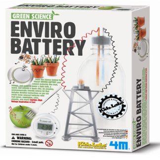 Enviro Battery Green Science Kits (Gift Ideas, STEM)
