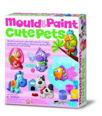 Mould and Paint Cute Pets  (Gift Ideas)