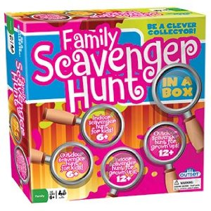 Family Scavenger Hunt Game (Gift Ideas, STEM)