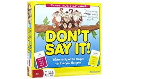 Don't Say It !  Game (Gift Ideas)