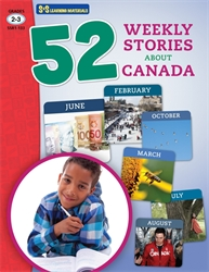 52 Weekly Stories About Canada Grades 2-3 (Canadian Reading Comprehension)