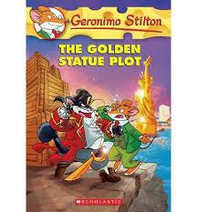 Geronimo Stilton - Golden Statue Plot