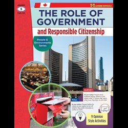 The Role of Government & Responsible Citizenship: People & Environments (BC5)