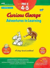 Curious George Adventures in Learning, Pre-K Story-based learning