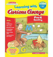 Curious George Learning with Pre-K Reading