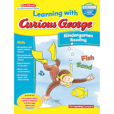 Curious George Learning with  Kindergarten Reading
