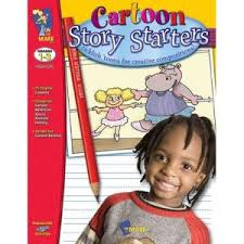 Cartoon Story Starters Grade 1-3 (Creative Writing)