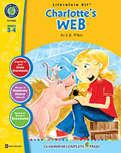 Charlotte's Web Literature Kit Grade 3-4 (Novel Not Included,(BC3)