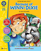 Because of Winn-Dixie Literature Kit Grade 3- 4 (Novel Not Included)