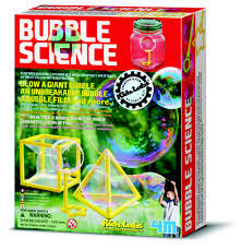 Bubble Science Experiments (chemistry, water)