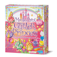 Mould and Paint Princess Glitter (gift ideas)