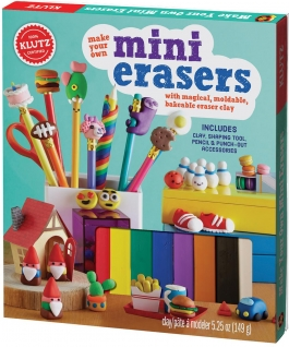 Klutz Make Your Own Mini Erasers: With magical, moldable, bakeable eraser clay (gift ideas)