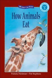 Level 3 Reader: How Animals Eat
