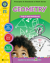 Geometry Task Drill Gr. 3- 5 ( BC4, BC5 )